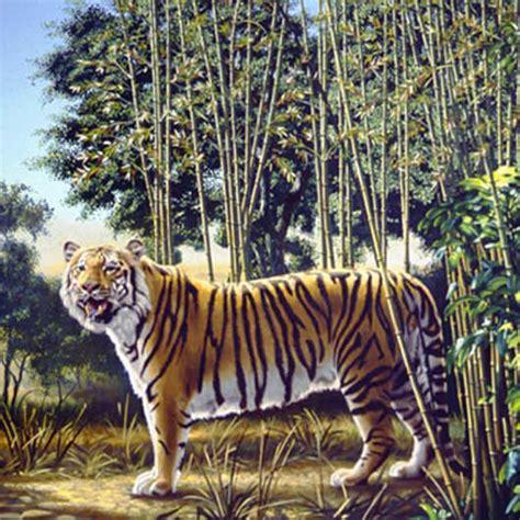 hidden tiger optical illusion
