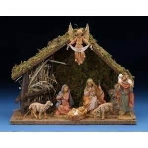 fontanini nativity set 7 piece 41607