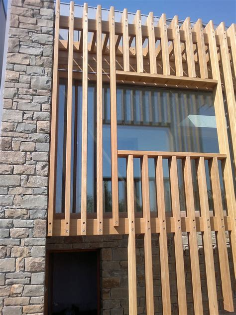 Moderne Häuser Fenster by Fa 231 Ade Claustra Fassade Holzfassade Haus Architektur