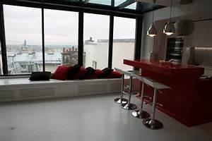 Bar D Appartement : deco photo loft et table bar sur ~ Teatrodelosmanantiales.com Idées de Décoration