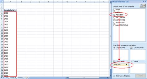 excel spreadsheet pivot table excel how to use excel pivot tables to organize data