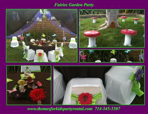 garden princess theme birthday table set up