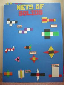 Nets Of Solids Display
