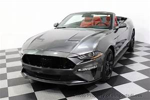 2018 Used Ford Mustang CERTIFIED MUSTANG GT 5.0L V8 PREMIUM CONVERTIBLE NAV CAM at eimports4Less ...