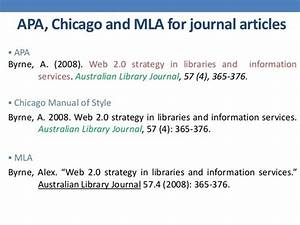 Chicago Style Footnotes Example What Is The Best Citation Style For An Academic Paper
