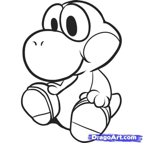 baby yoshi coloring pages   coloring pages