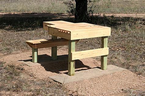 nice sturdy shooting bench diy texas hunting forum
