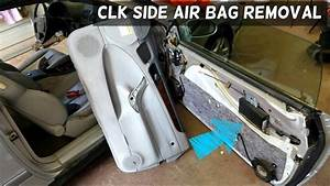 Mercedes Clk W208 Side Door Air Bag Airbag Removal