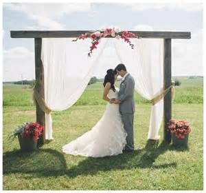 wedding arches indoor how to diy your wedding altar aisle