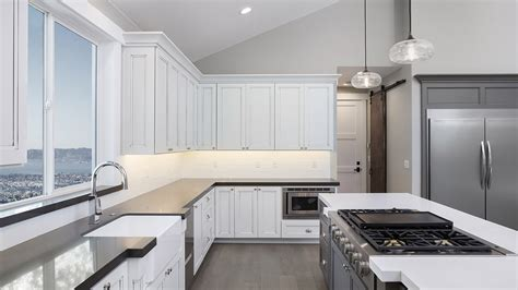 change color of kitchen cabinets should you stain or paint your kitchen cabinets for a 8126