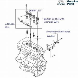 Hyundai I20 1 4 Petrol  Ignition Coil