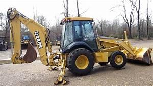 John Deere 410g Backhoe Loader Official Operation  U0026 Test