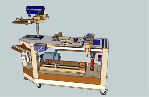 derang woodworking bench  power tools