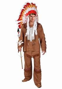 Deluxe Menu0026#39;s Native American Costume