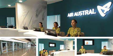 air austral reservation siege nous contacter air austral agences call center air