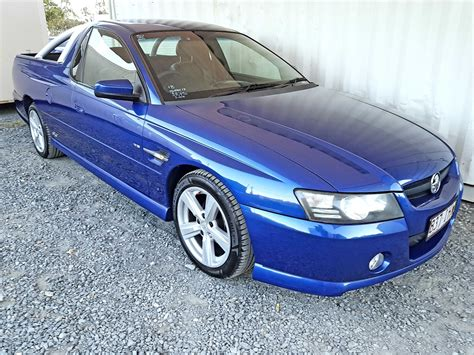 ss commodore ute automatic  blue  vehicle sales