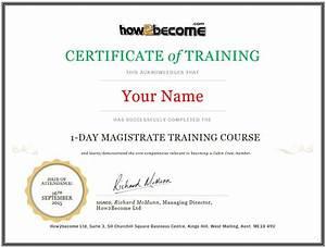 certificate of attendance seminar template - online magistrate training course recruitment masterclass