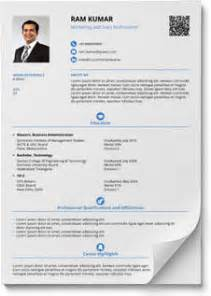 resume format in word and pdf shriresume