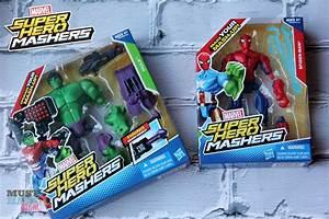 Hasbro's Marvel Super Hero Mashers Deliver Hours Of