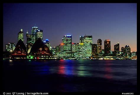 Picturephoto Skyline At Night Sydney, New South Wales, Australia