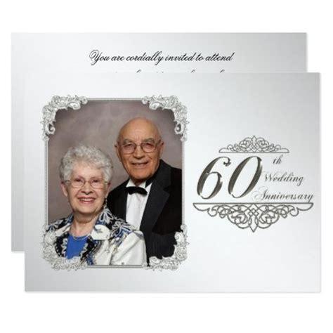 wedding anniversary photo invitation card zazzle