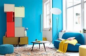 Farben Und Wohnen : komplement rfarben blau und gelb bild 3 sch ner wohnen ~ Markanthonyermac.com Haus und Dekorationen