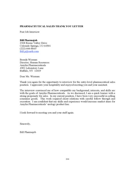Cover Letter For Pharmaceutical Sales Rep by Pharmaceutical Sales Cover Letter Free