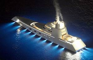 119m Super Yacht QuotAquot Designed By Philippe Starck For