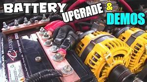 Bigger Battery Upgrade W   Custom Copper Terminals