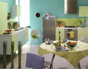 peinture cuisine et combinaisons de couleurs en 57 idees With wonderful couleur pastel pour salon 8 realisations