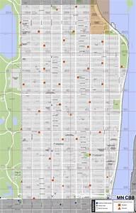 New York City Map Upper East Side