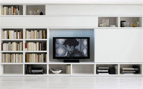 White Living Room Storage Units