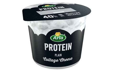 cottage cheese protein arla launches cottage cheese as part of arla protein