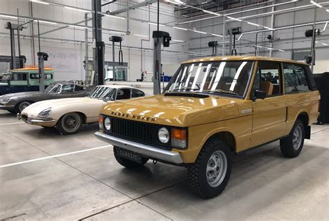 Jaguar Land Rover Classic Works Inside The 'dream Factory