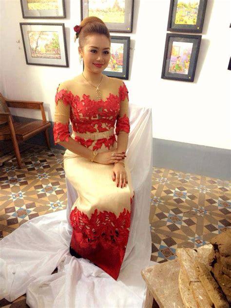 myanmar dresses designer designs   styles