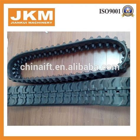 mini excavator undercarriage spare parts rubber track rubber belt  sale buy rubber track
