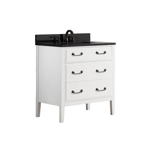 31 inch white bathroom vanity without top 1804delano vs30 wt a 1