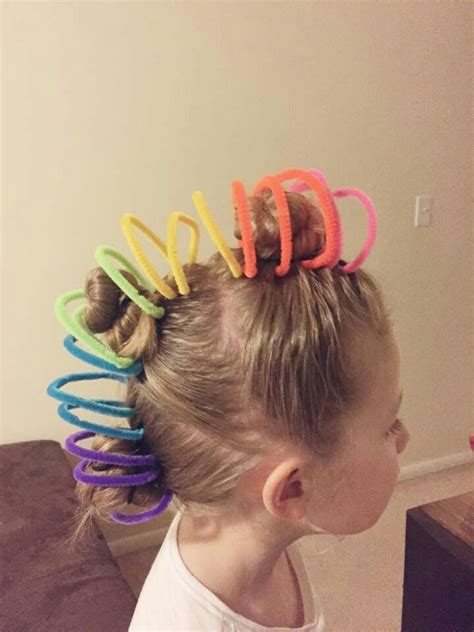 Easy Hairstyles For Hair Day by Idea For Hair Day At School Easy Hair Day In 2019