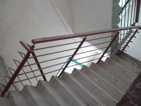Ms Handrail Design - ms staircase railing at rs 1250 mild steel railing