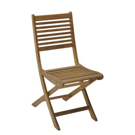 chaise de jardin en bois saturne aspect teck leroy merlin