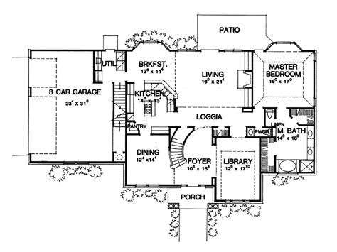 house plans and more montecristo revival home plan 111d 0028 house plans
