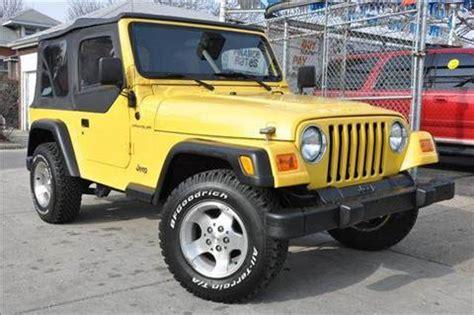 jeep wrangler  sale carsforsalecom