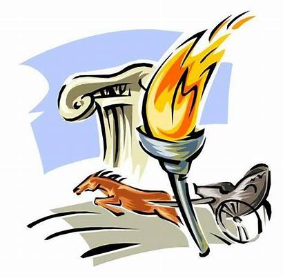 Ancient Greece Clipart Olympics Olympic Torch Greek