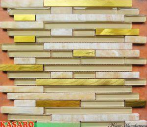 china yellow onyx and glass mosaic