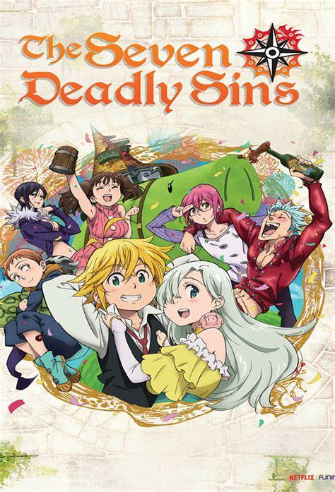 deadly sins nanatsu taizai tv series