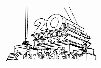 20th Fox Century Coloring Pages Sketch Template