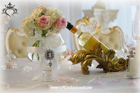dekoartikel goldene hochzeit brauttisch oder verlobungstisch in allen farben