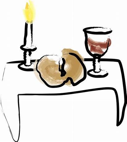 Bread Wine Clipart Candle Watercolor Communion Clip