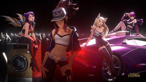 League Of Legends K-pop Video Is A Blast