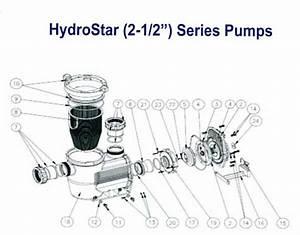 Waterco Hydrostorm Pump Parts